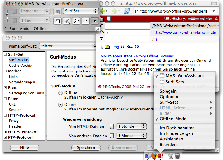 MM3-WebAssistant - Proxy Offline Browser - Professional